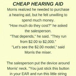 Cheap Hearing aid