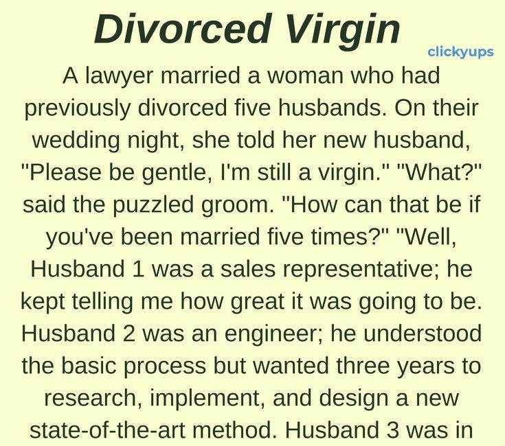 Divorced Virgin