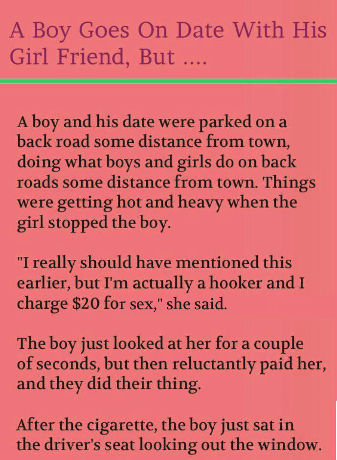 First Date (funny story)
