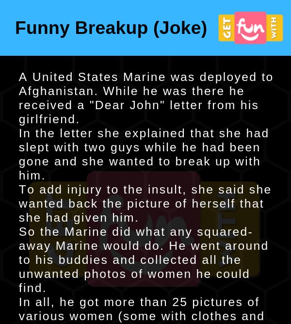 Funny Breakup (Joke)