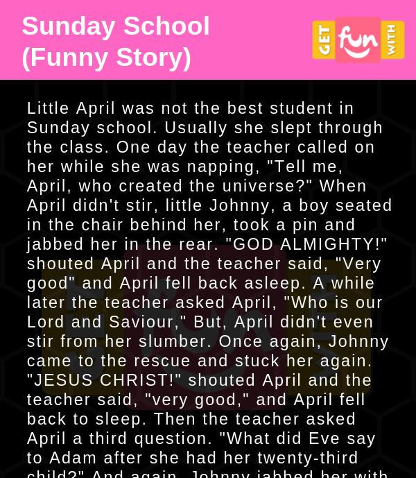 Sunday School (Funny Story)