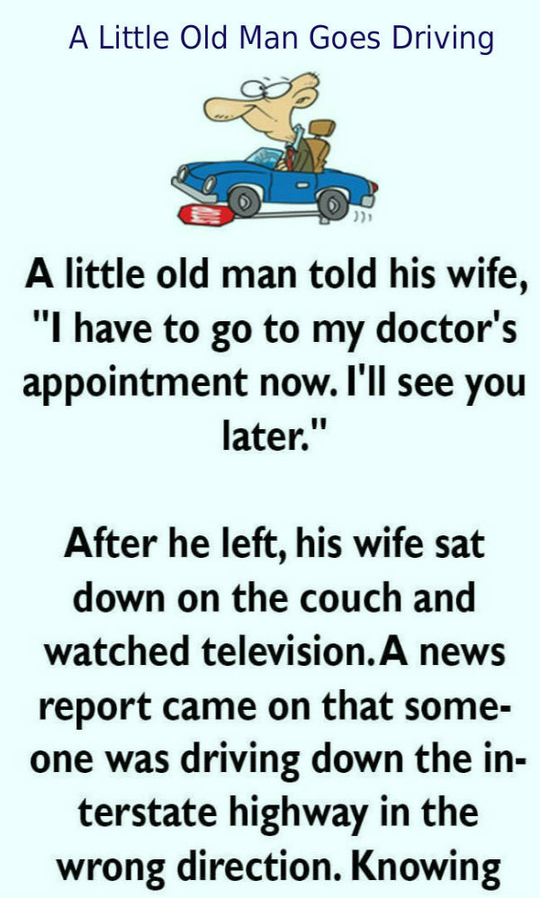 Old man goes to doctor..