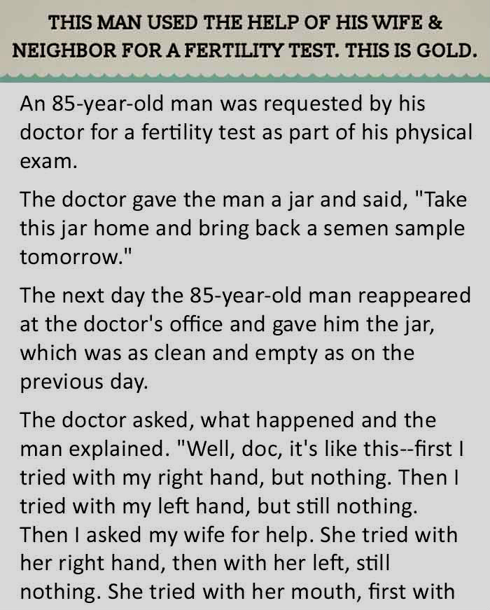 THE DOCTOR NEVER THOUGHT THIS MAN WOULD DO THIS.