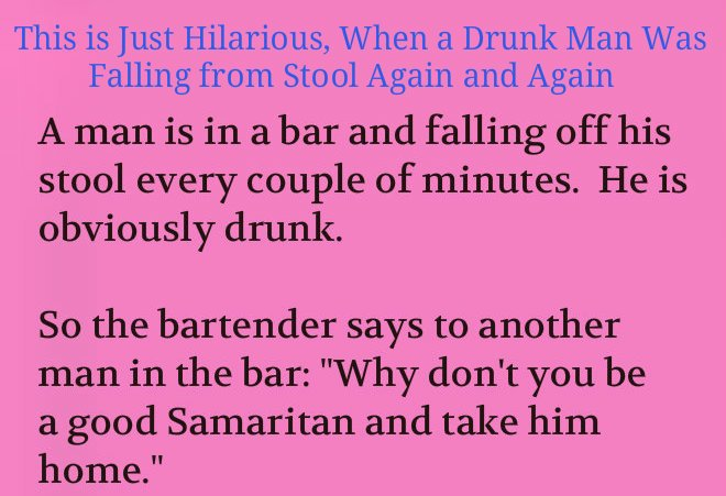 A man took a drunk man to his home (Funny Story)