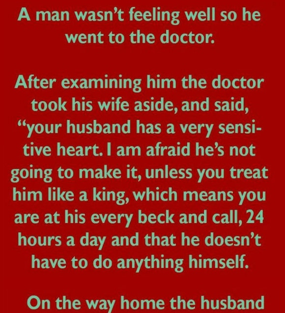 Doctor and wife (Funny Joke)