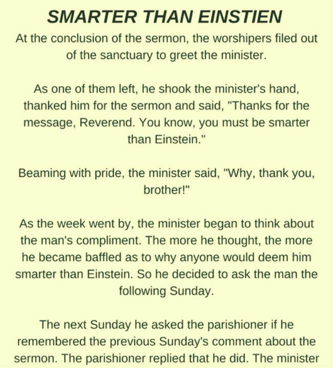 SMARTER THAN EINSTEIN.