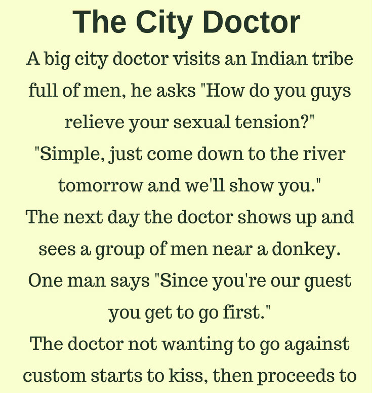 THE CITY DOCTOR(FUNNY STORY)