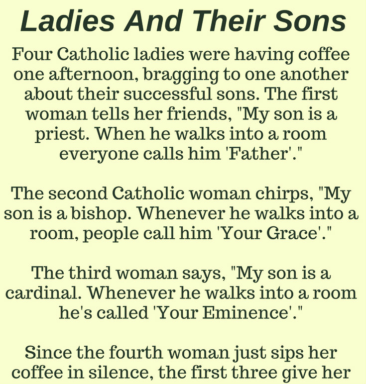LADIES AND THEIR SONS