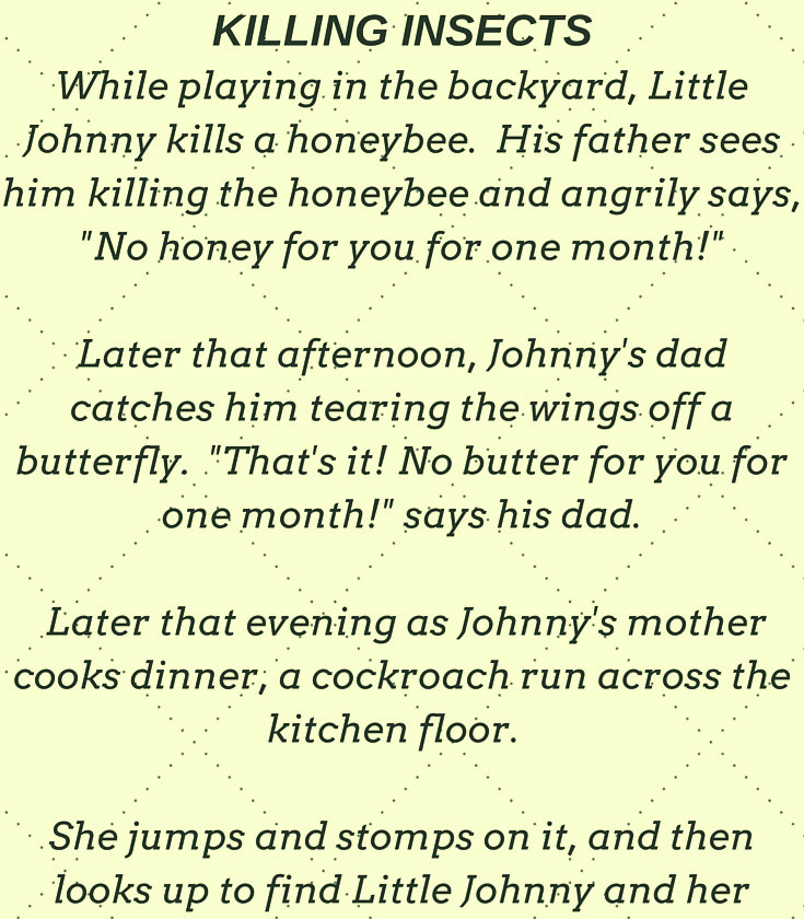 LITTLE JOHNNY HAS A DIRTY MIND..