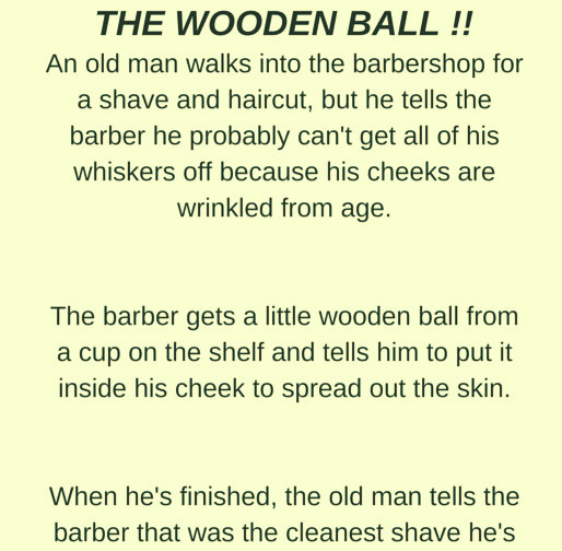 THE WOODEN BALL !!