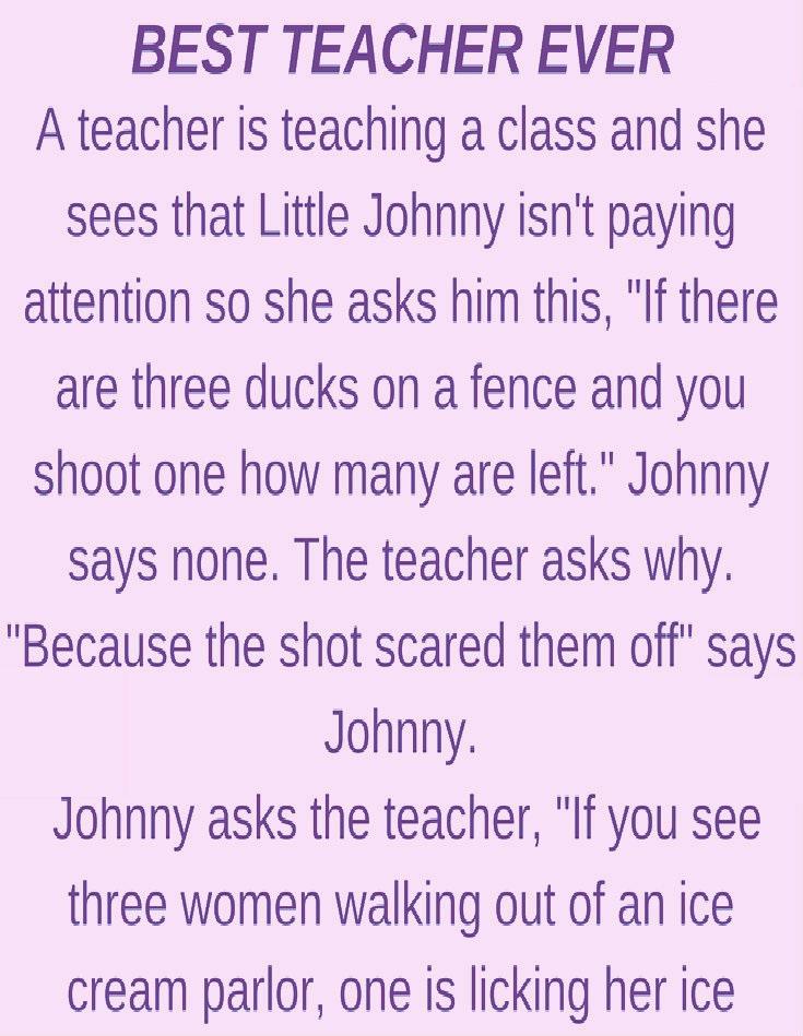 BEST TEACHER EVER!!