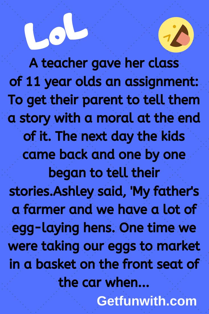 A teacher gave her class