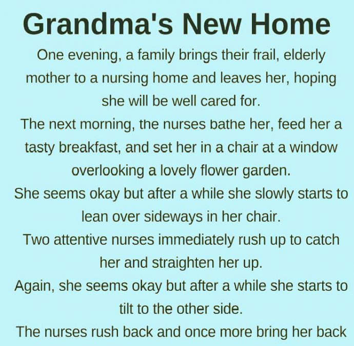 Grandma's new home