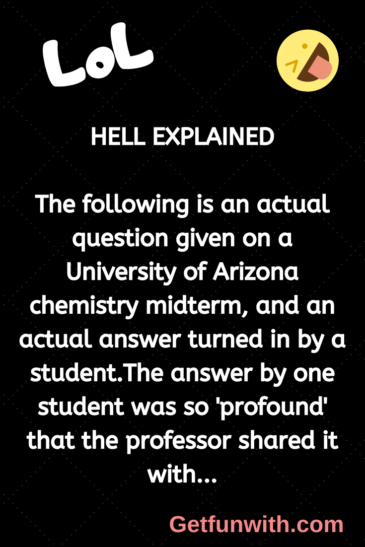 HELL EXPLAINED