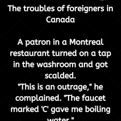 The troubles of foreigners in Canada