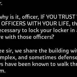Best Ever Reply to Lawyer by a cop.