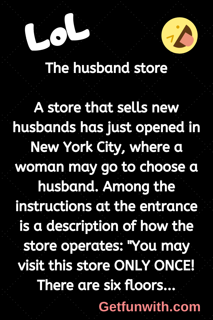 The husband store